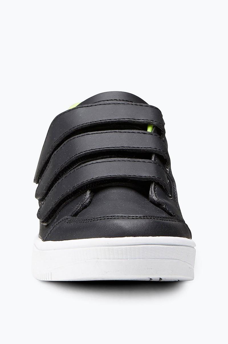 Ellos Shoes Sneakers med kardborre Svart Barn Ellos.se