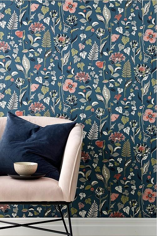 54015b48e152 Tapeter i forskellige farver og mønstre - Shop online Ellos.dk