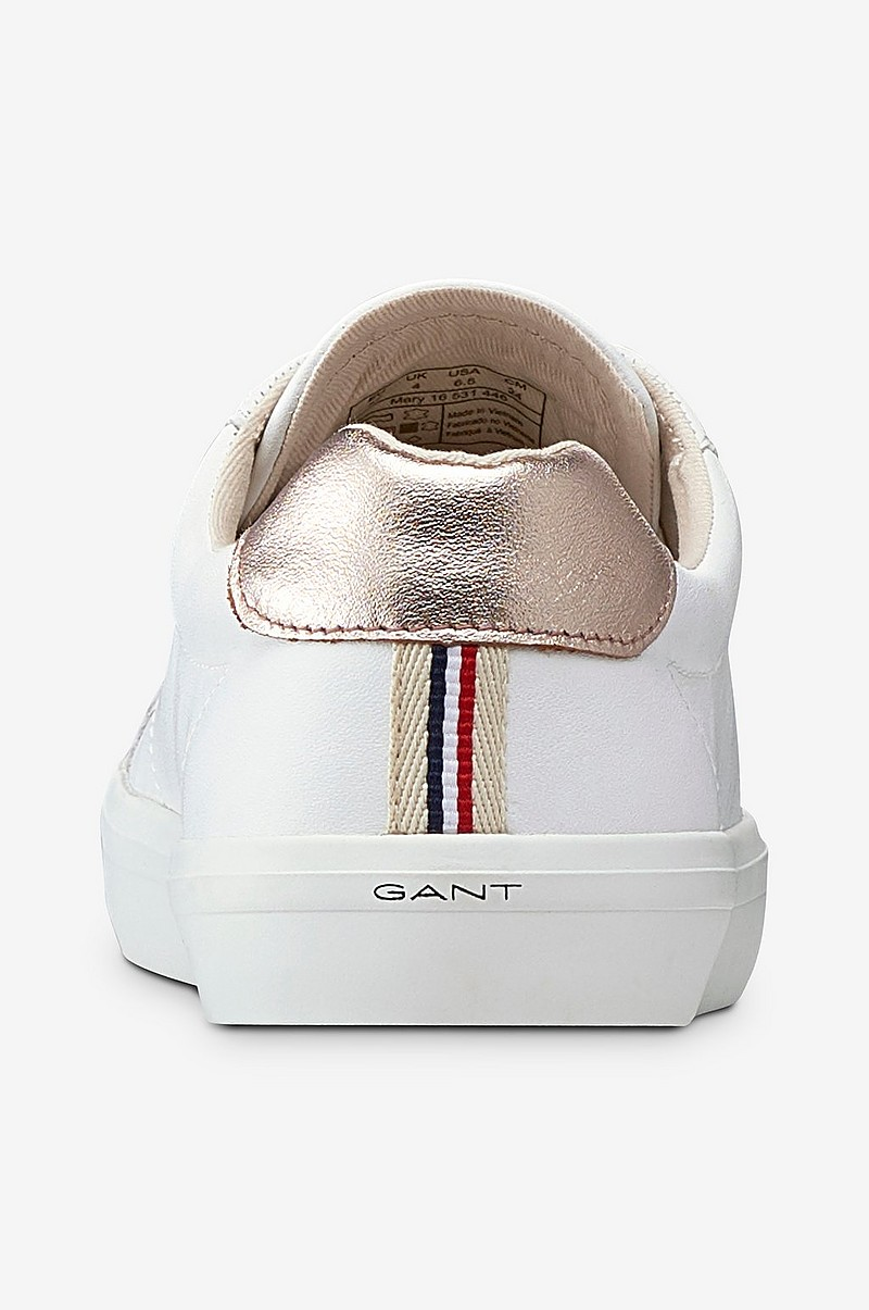 Gant Sneakers Mary Low Lace Shoes Vit Dam Ellos.se