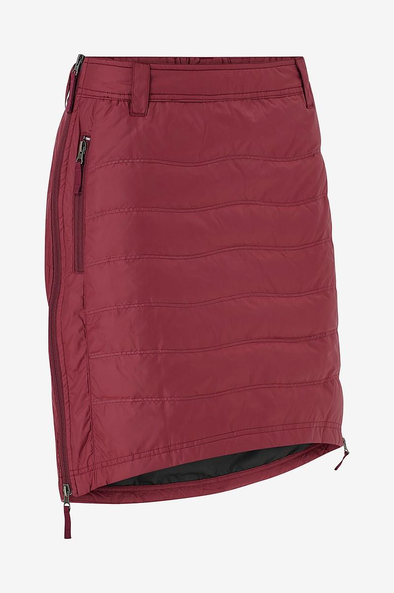 Skhoop Täckkjol Short Down Skirt Röd Dam Ellos.se