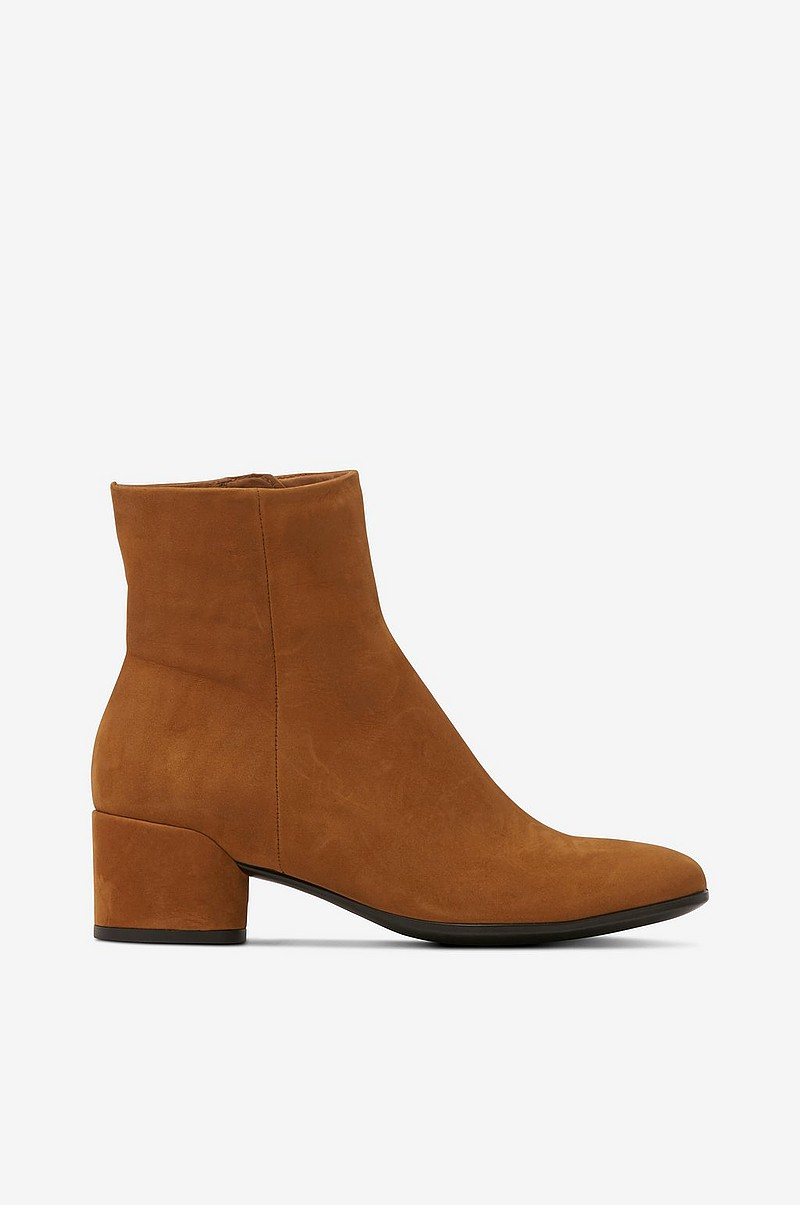 ecco Boots Shape 35 Mod Block Brun Dame Ellos.no