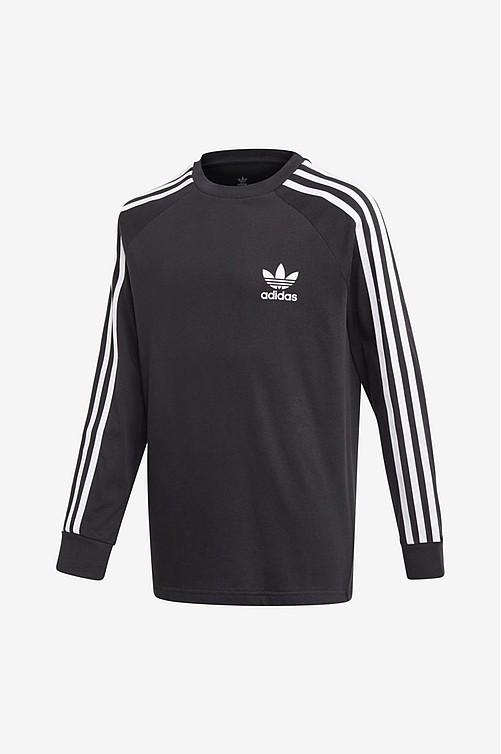 adidas Originals mini logo t shirt dress in black