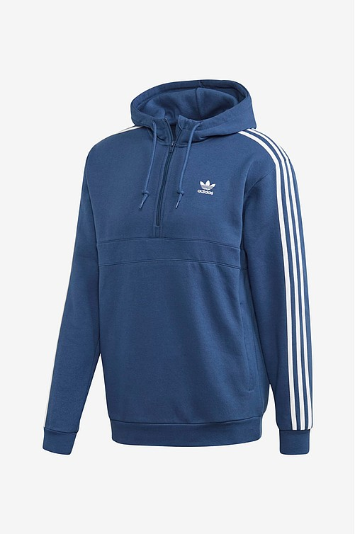 adidas 3 Stripe Wrap training pants blue