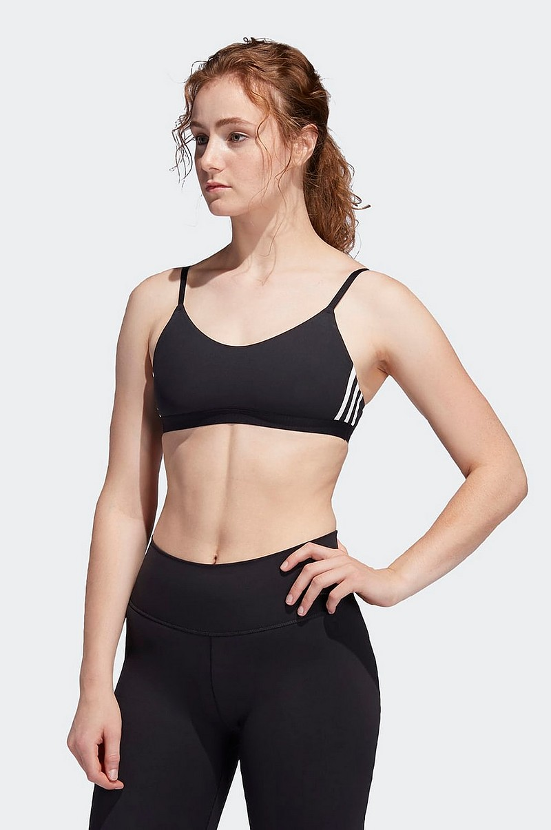 adidas Sport Performance Sports bh All M 3 stripes Bra
