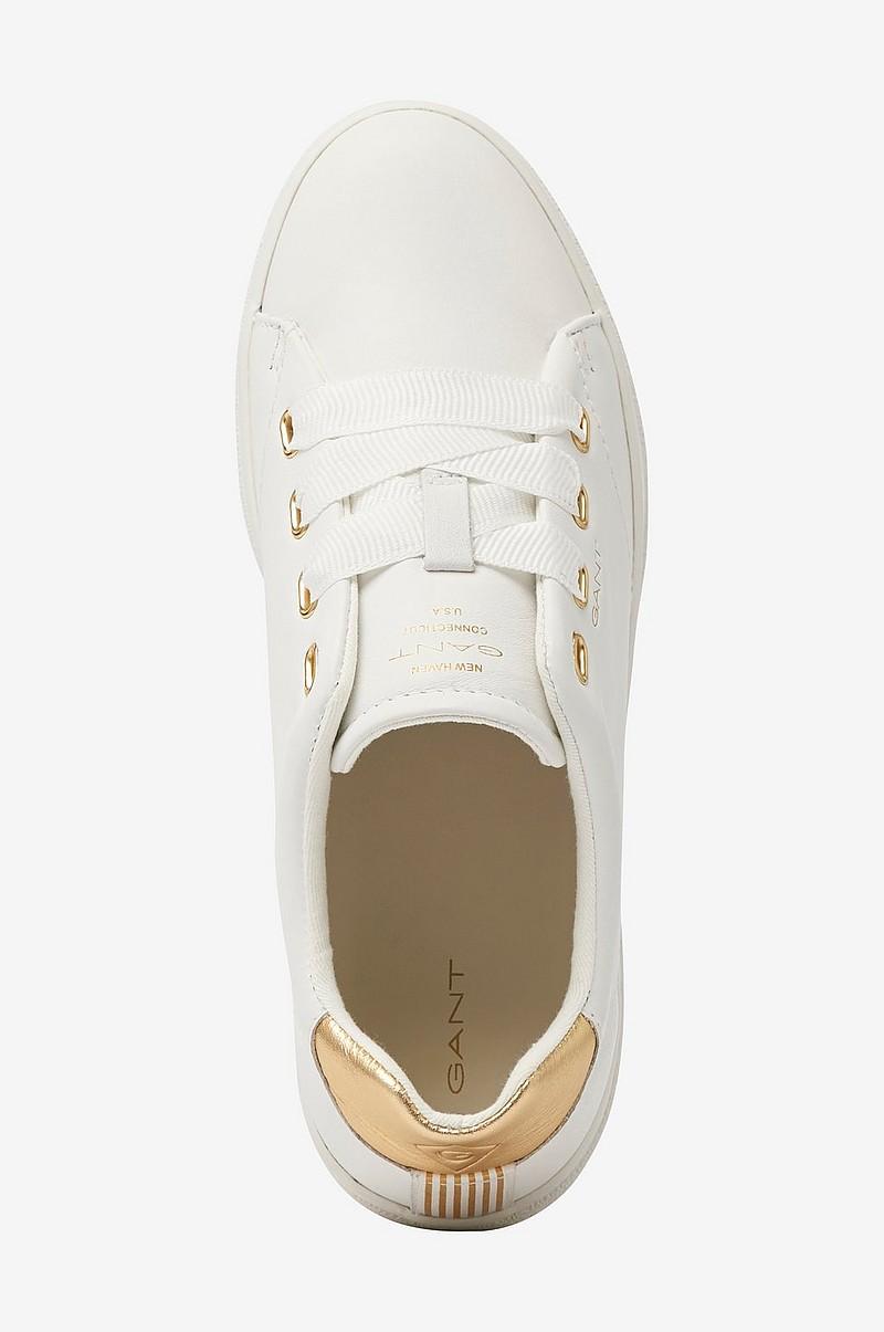 Gant Sneakers Aurora Low Lace Vit Dam Ellos.se