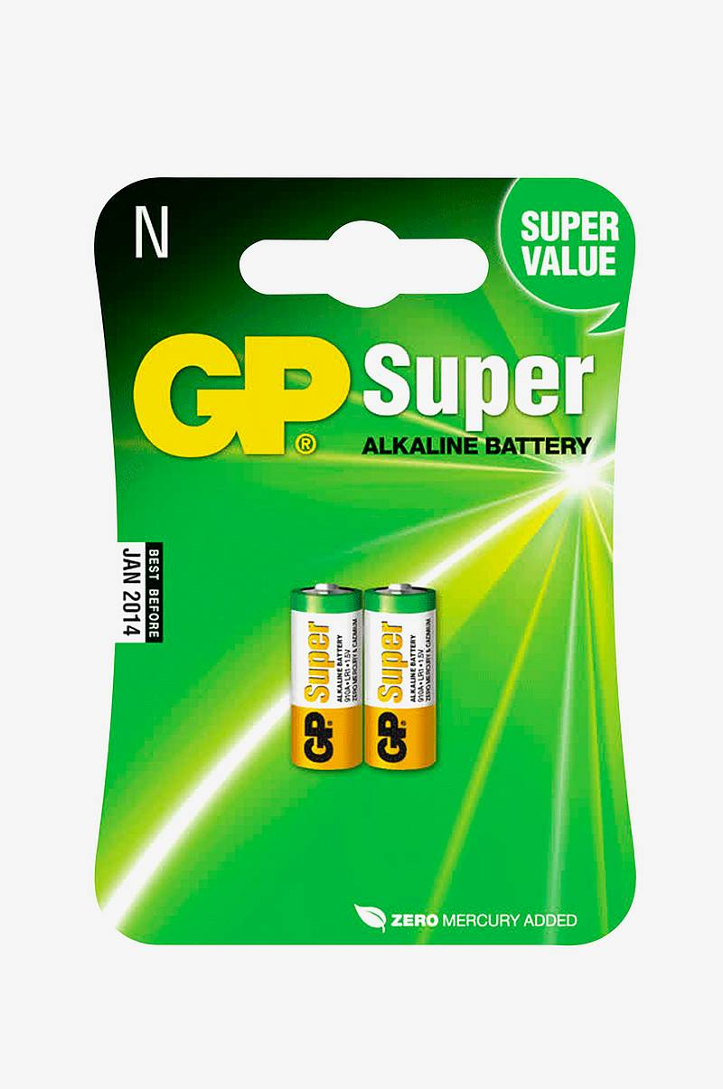 Batteri Super Alkaline (Lr1 2-Pack)