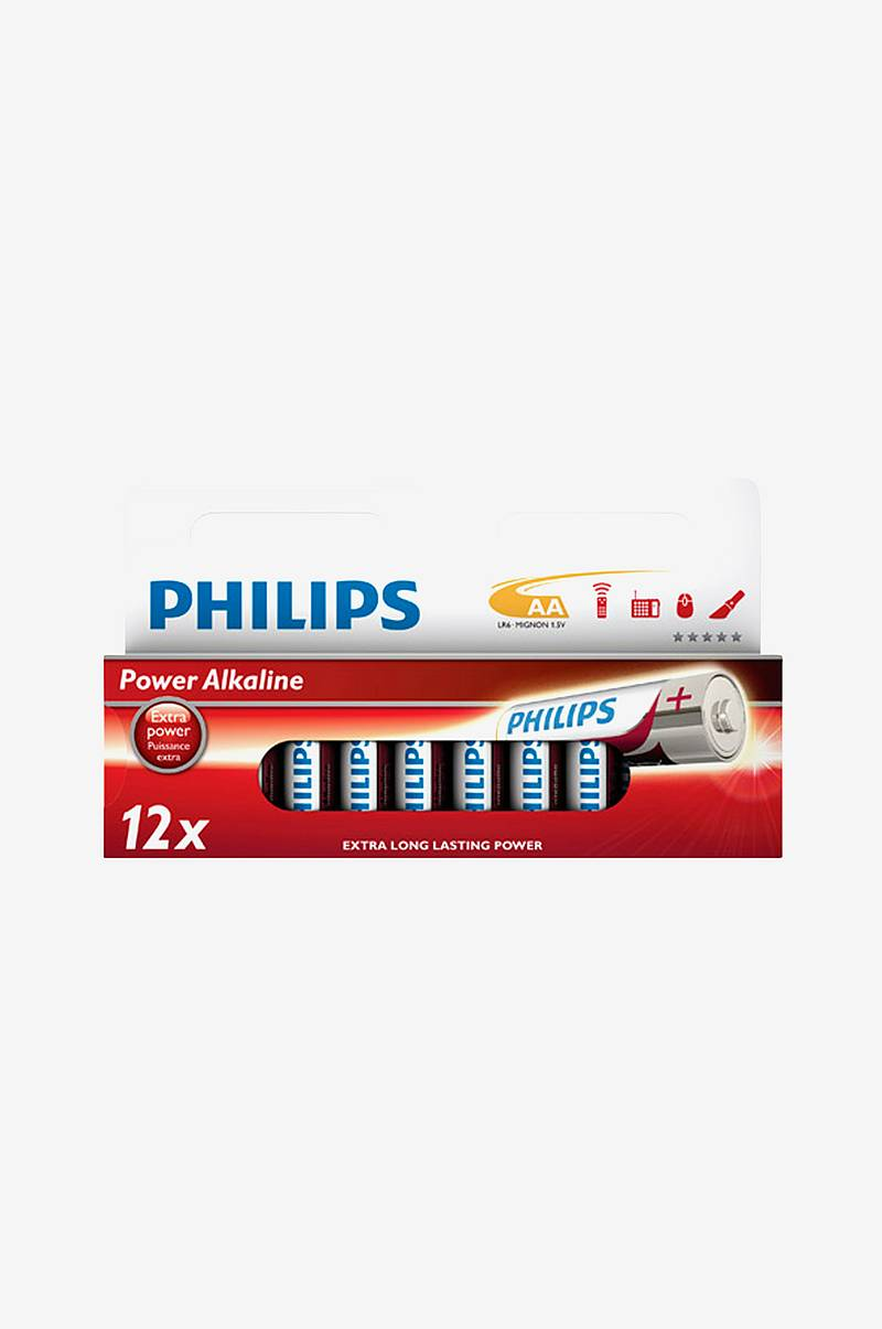 Power Alkaline AA 12-pack