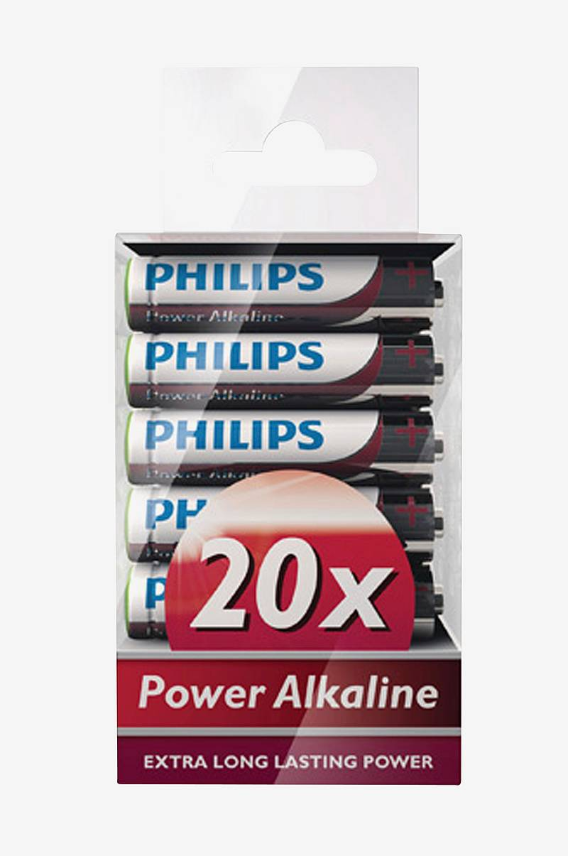 Power Alkaline AAA 20-pk