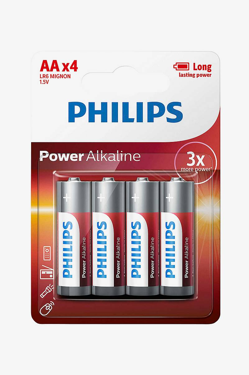 Power Alkaline AA LR06 4-pk