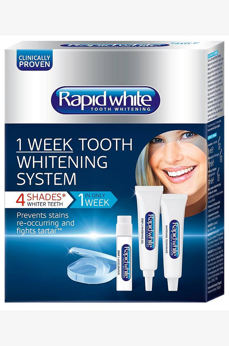 rapid white 2 week tooth whitening system instructions