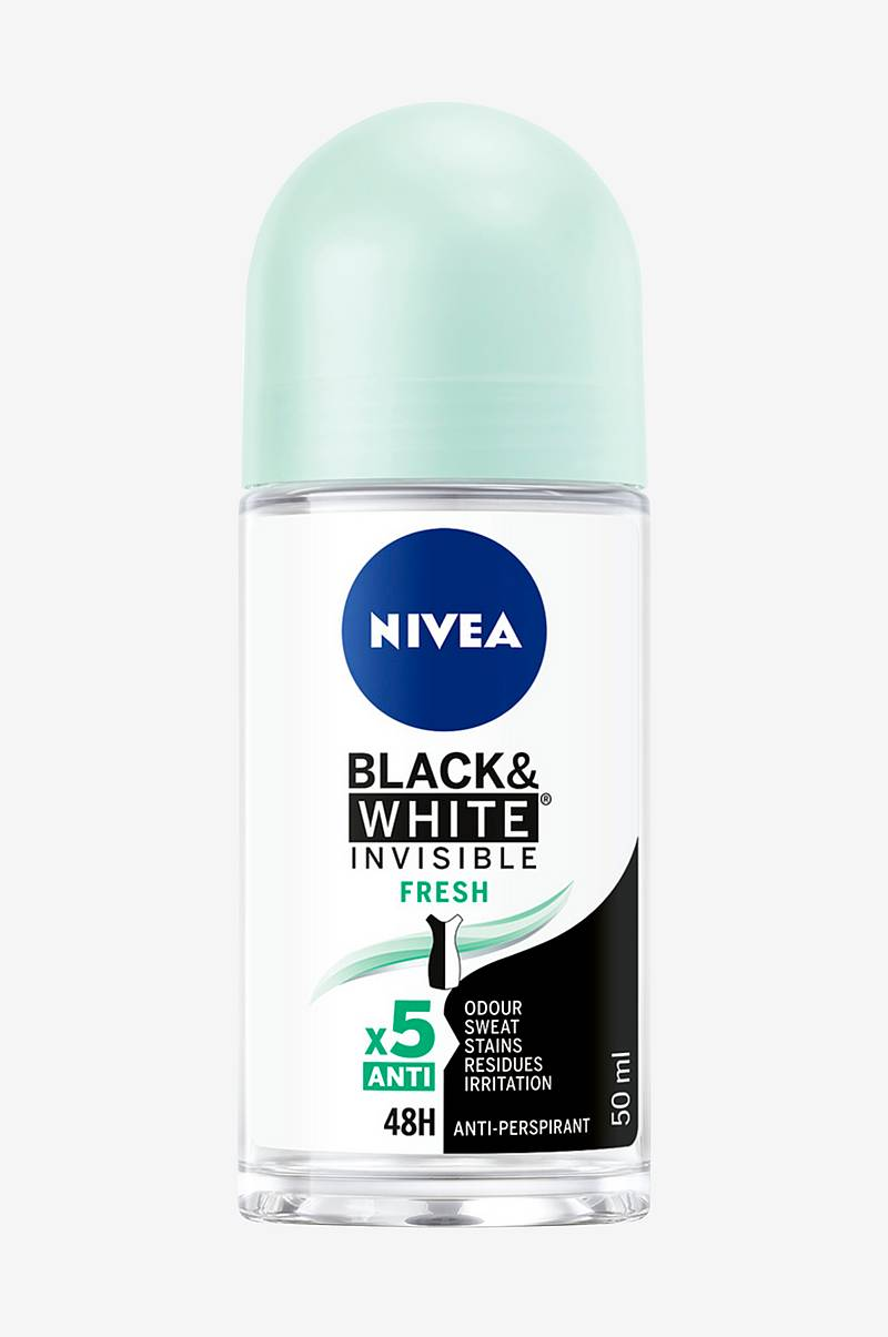Invisible Black&White Fresh Roll On 50ml