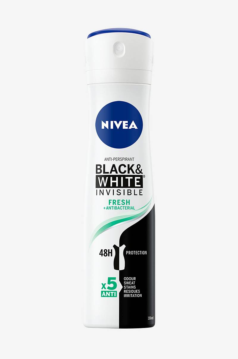 Invisible Black&White Fresh Spray 150ml