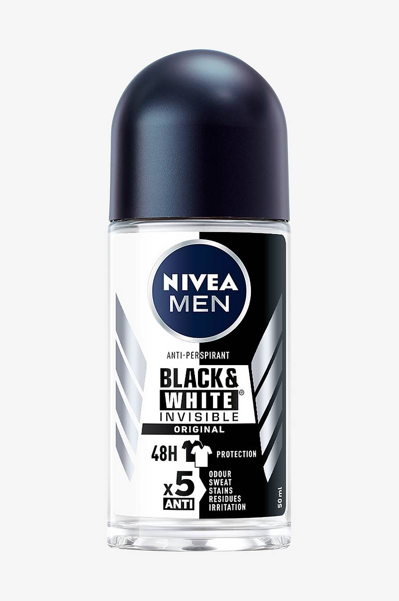 Invisible Balck&White Roll On 50ml