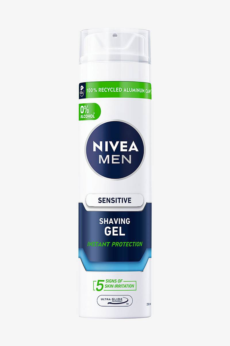 Nfm Sensitive Shaving Gel 200 ml