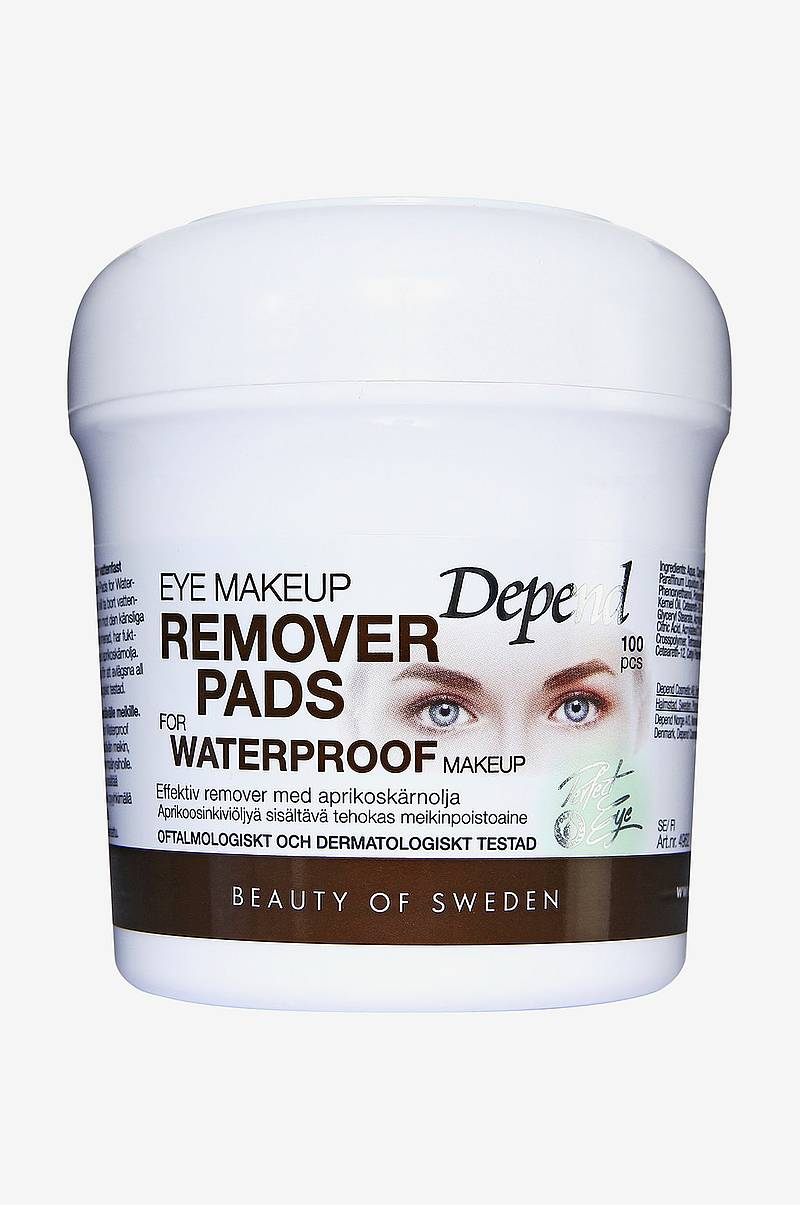 Eye Makeup Remover Pads For Waterproof Makeup