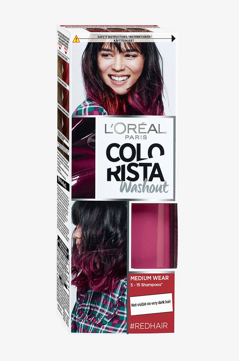Colorista Washout Redhair