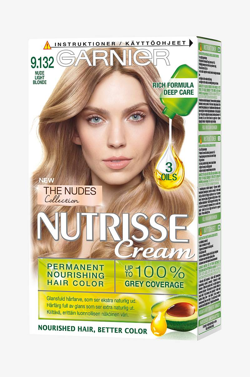 Nutrisse 9.132 Nude Light Blond
