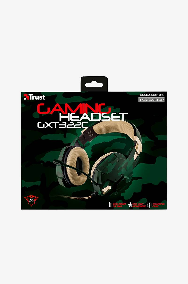 GXT 322W Gaming Headset, Green