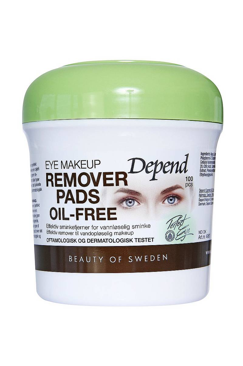 Eye Makeup Remover Pads Oil-Free