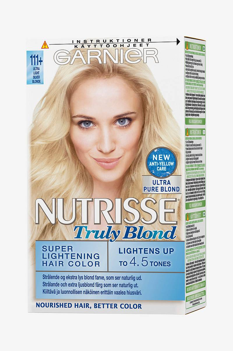 Hårfärg Nutrisse Truly Blond Ultra Light Silver Blonde 111+