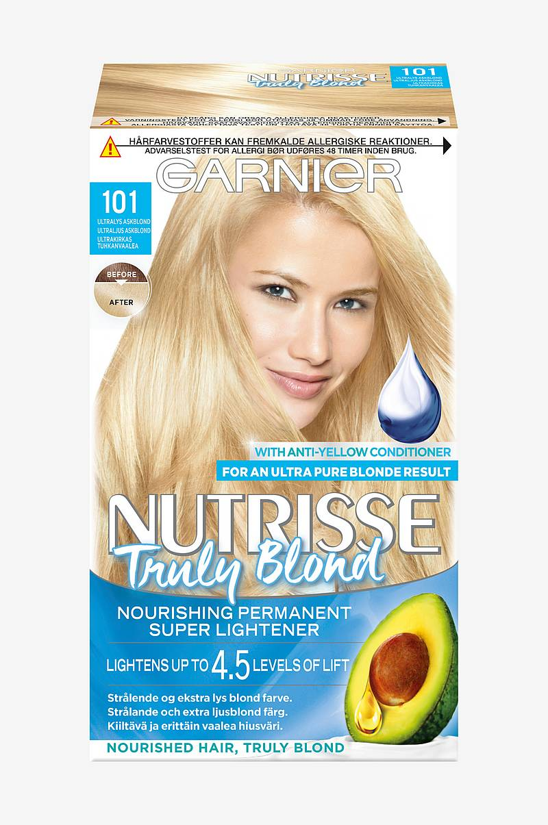 Nutrisse Truly Blond Ultra Light Ash Blonde 101