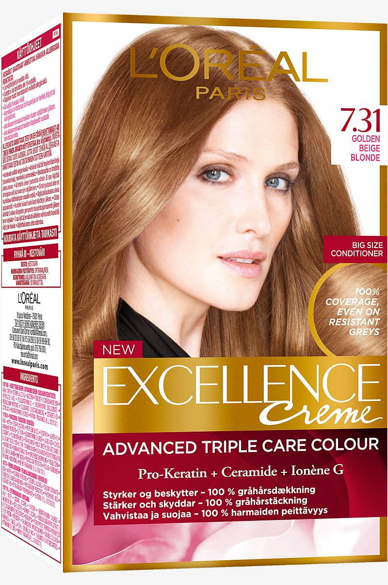 Excellence Guldblond Ask 7.31