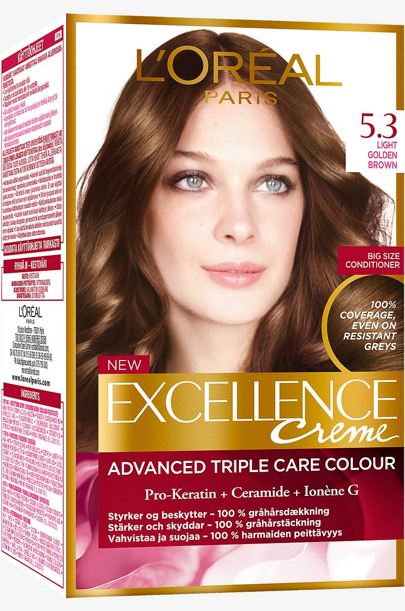 Excellence 5.3 Golden Light Brown Kullanruskea