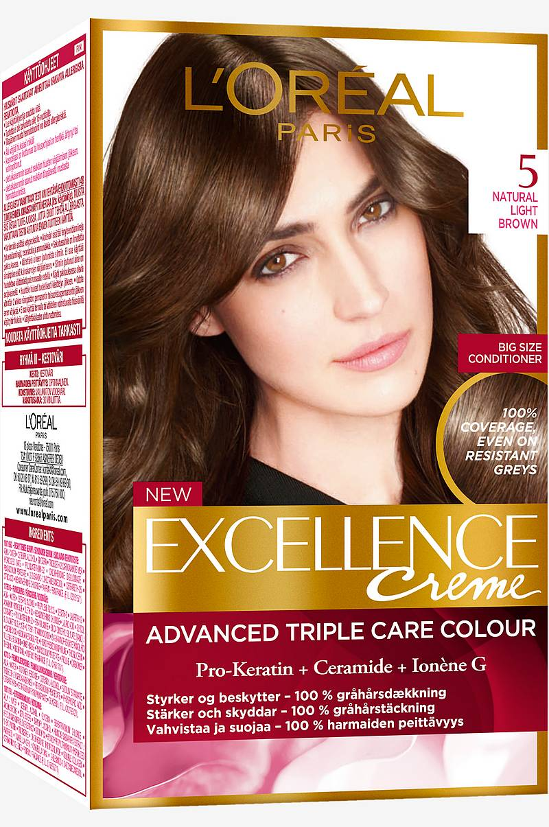 Excellence 5 Natural Light Brown ruskea