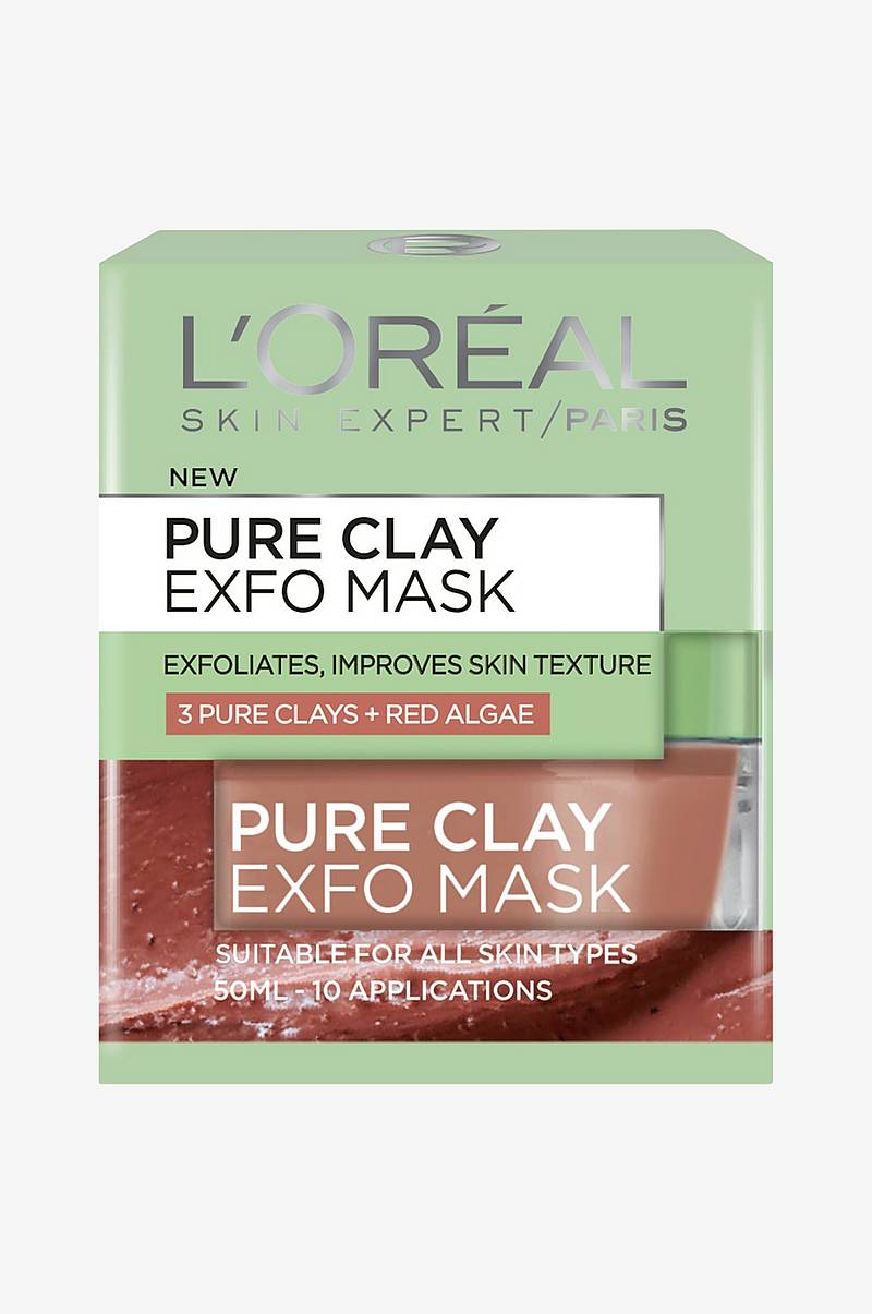 Pure Clay Mask Exfo Ansigtsmaske 50 ml
