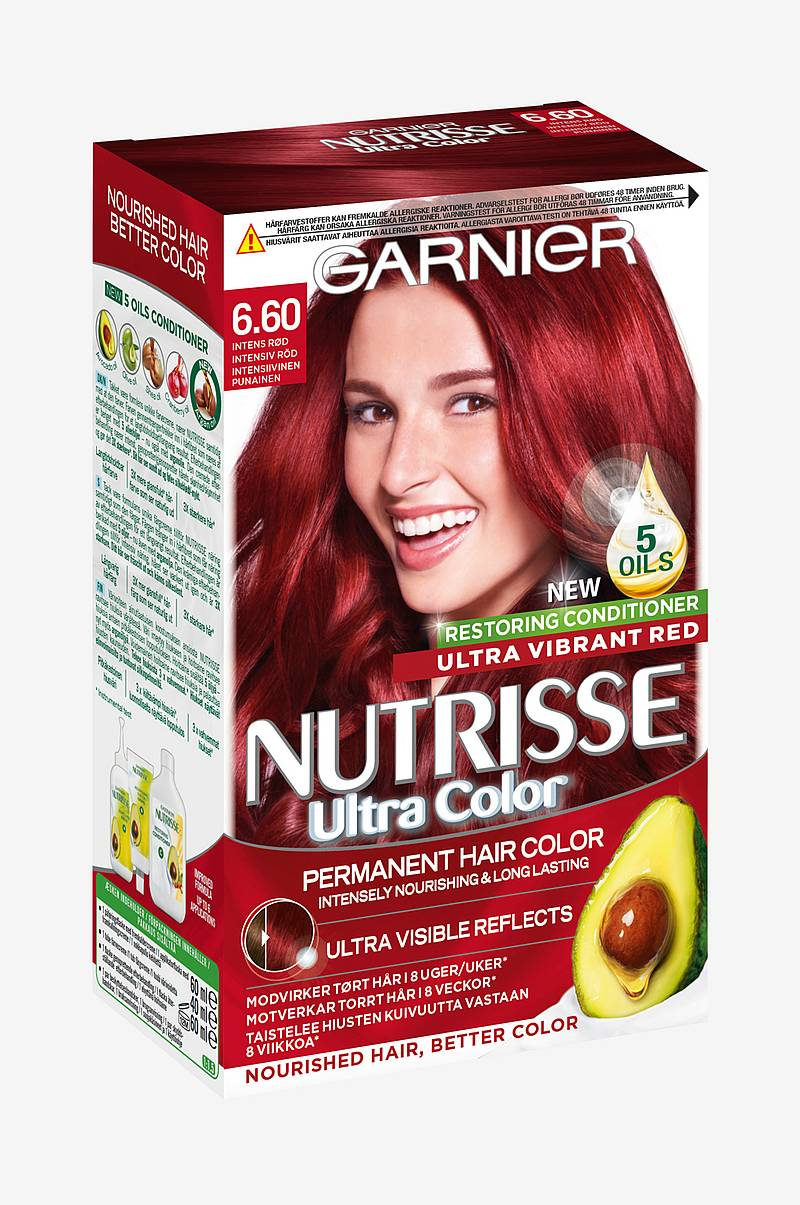 Nutrisse Ultra Color Intens rød 6.60