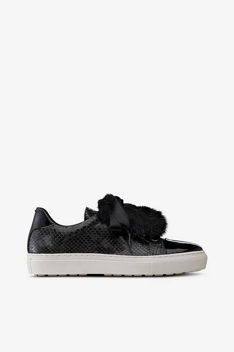 8b04cd50b6c Sneakers slip-in med pynt af syntetpels