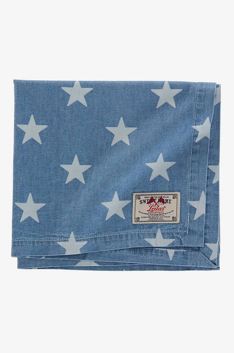 Servietter 4-pk Chambray Star