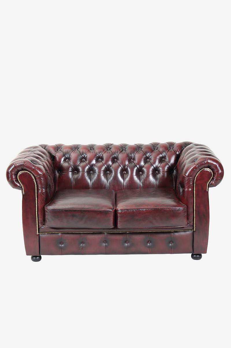 Soffa Chesterfield 2-sits London Liverpool