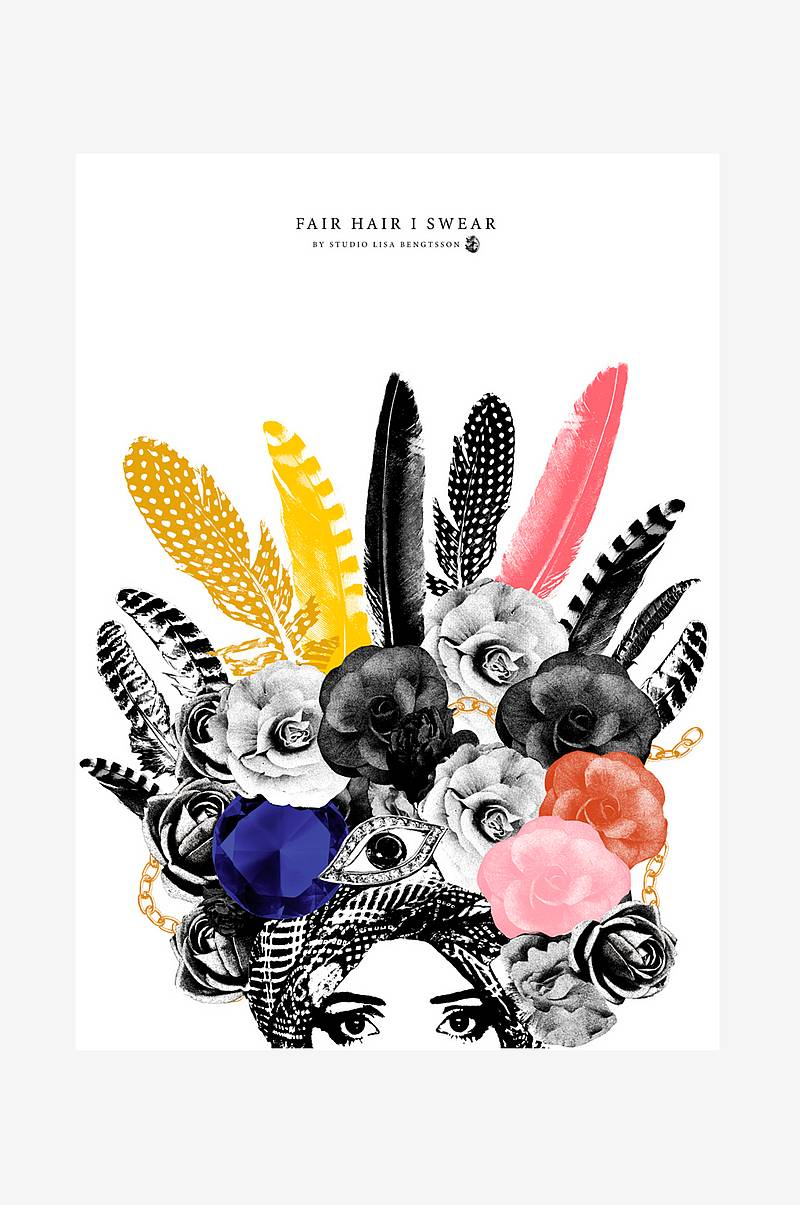 Poster Fair Hair I Swear 50x70 cm