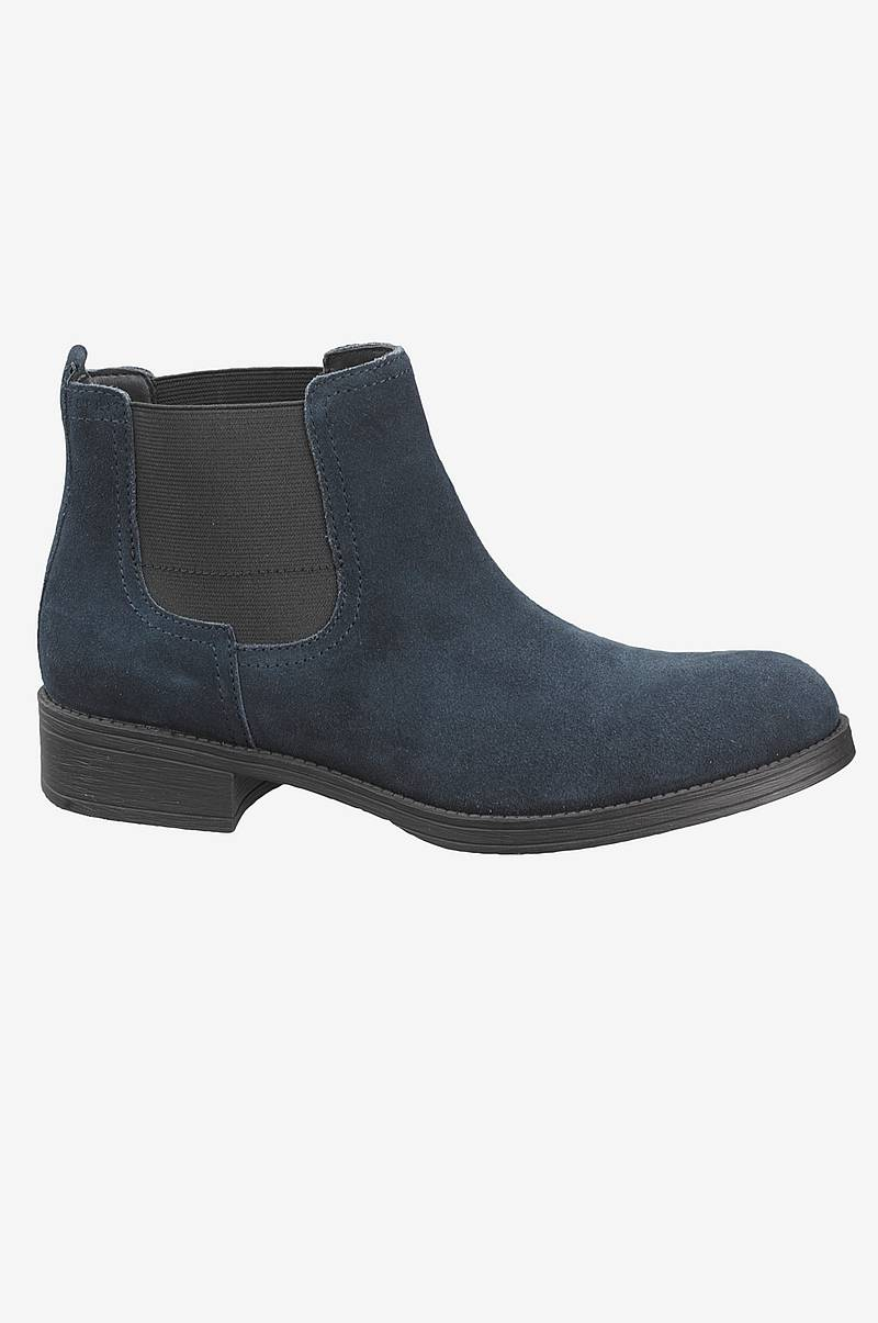 Chelsea-boots i ruskind
