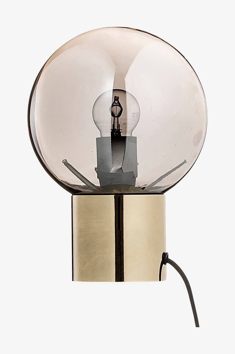 Bordlampe Gold