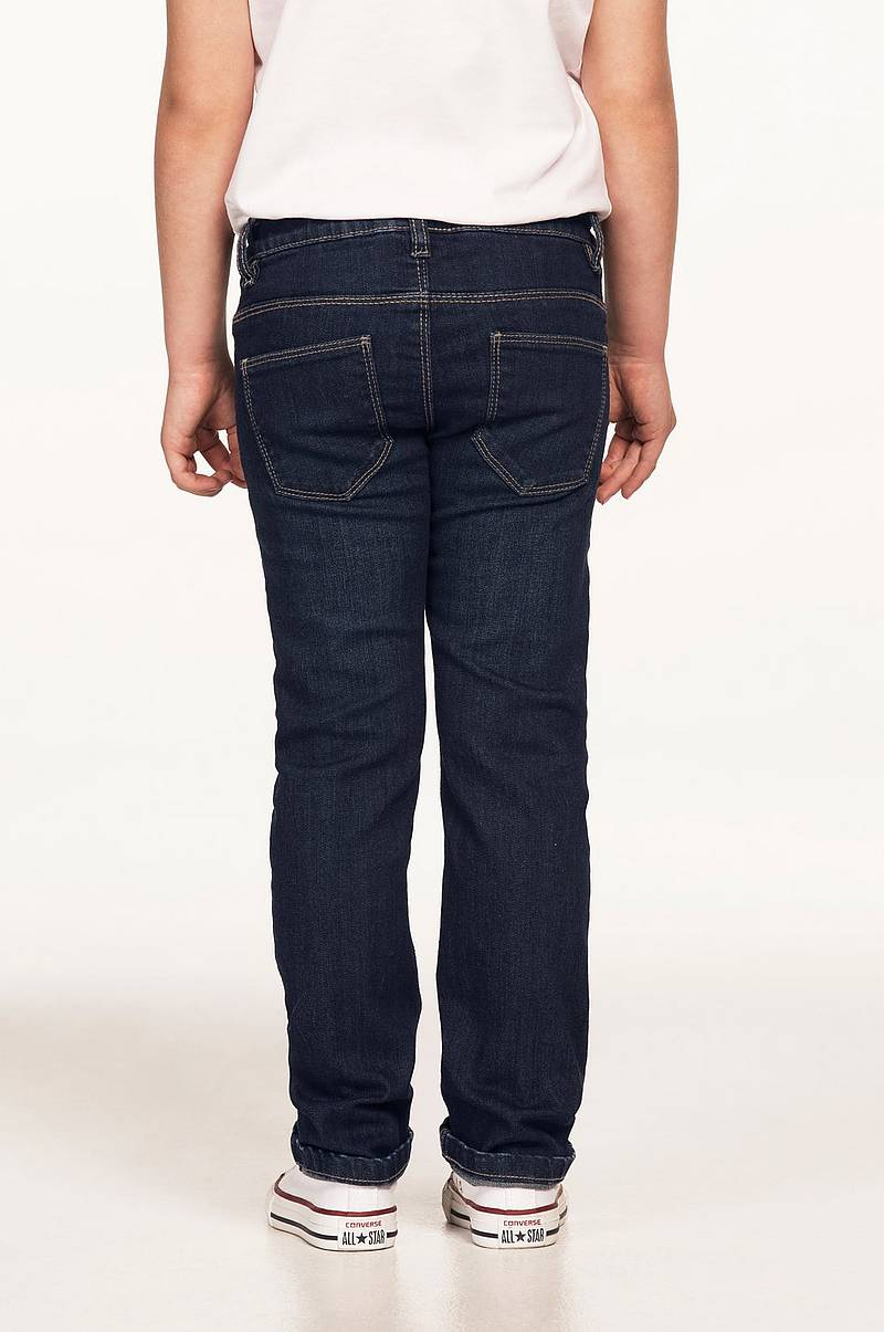 Jeans regular fit med raka ben cc72c0681d7ff