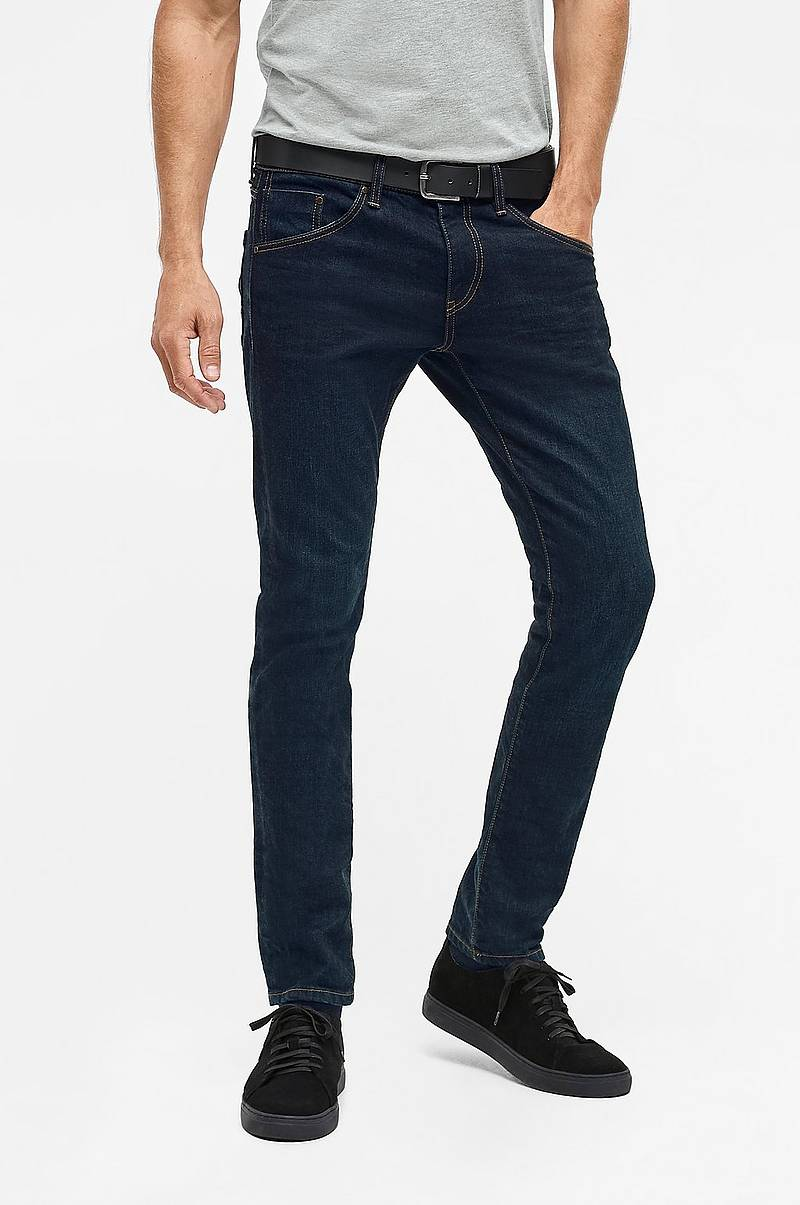 Herresko : Superdry Tyler Slim Fit Denim Jeans Nye Mænd