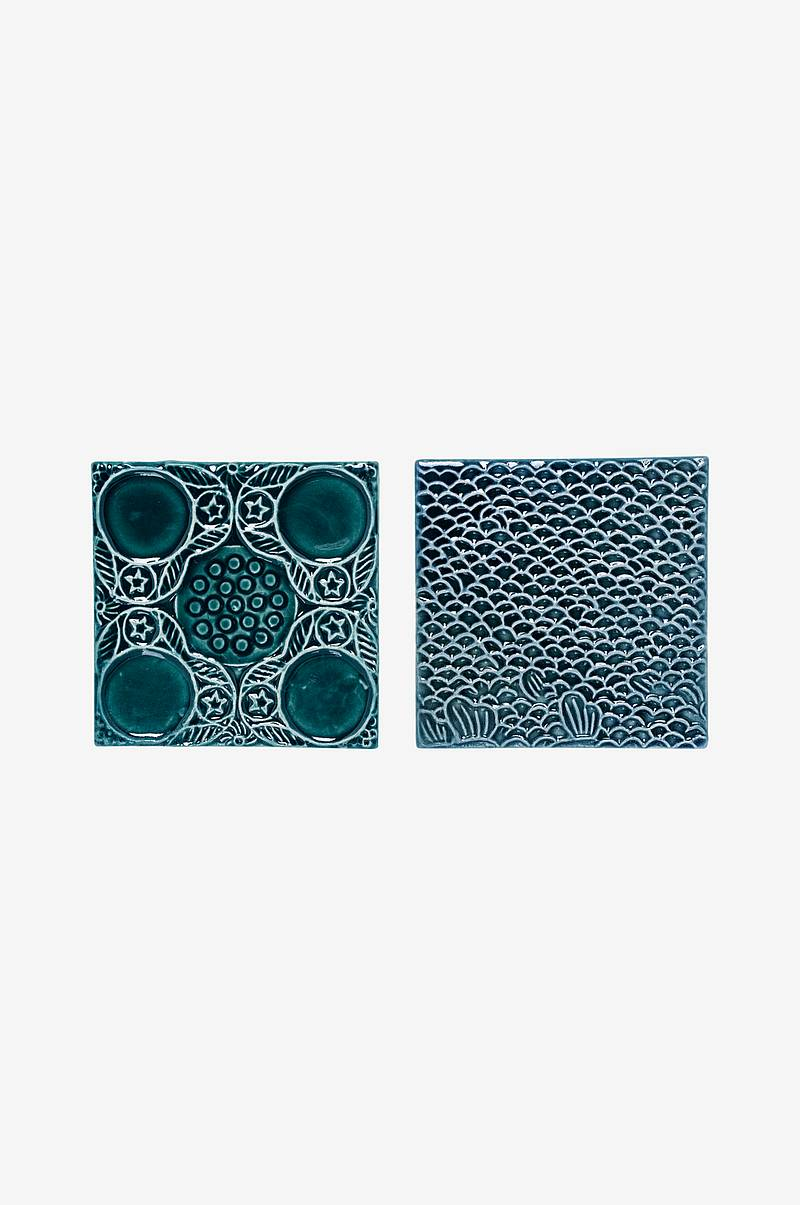 Dekorationsplattor Tile 2-pack