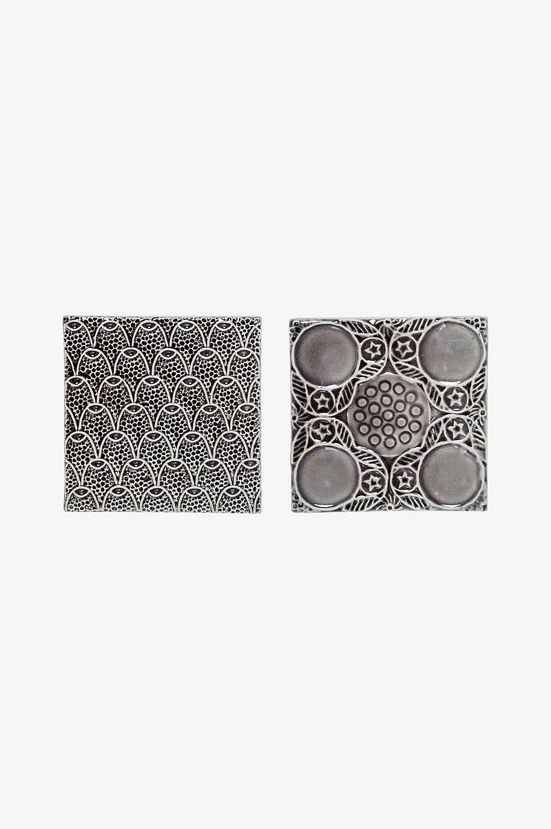 Dekorplater Tile 2-pk