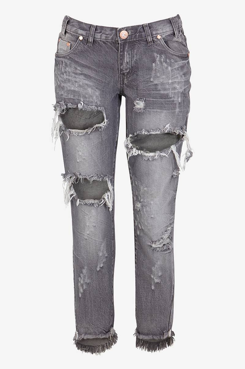 Jeans Grey Chalk Freebirds