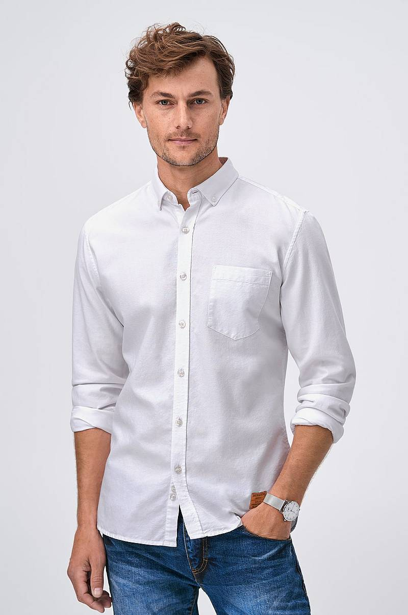 1307b65b2b0 Skjorte med button down-krage