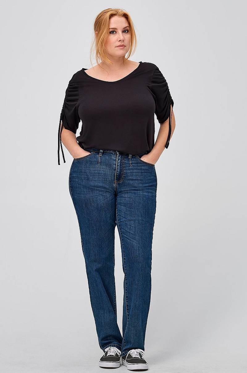 Ellos-plus-collection Straight fit jeans - Shoppa damjeans online ... 25dfa5846dc8b