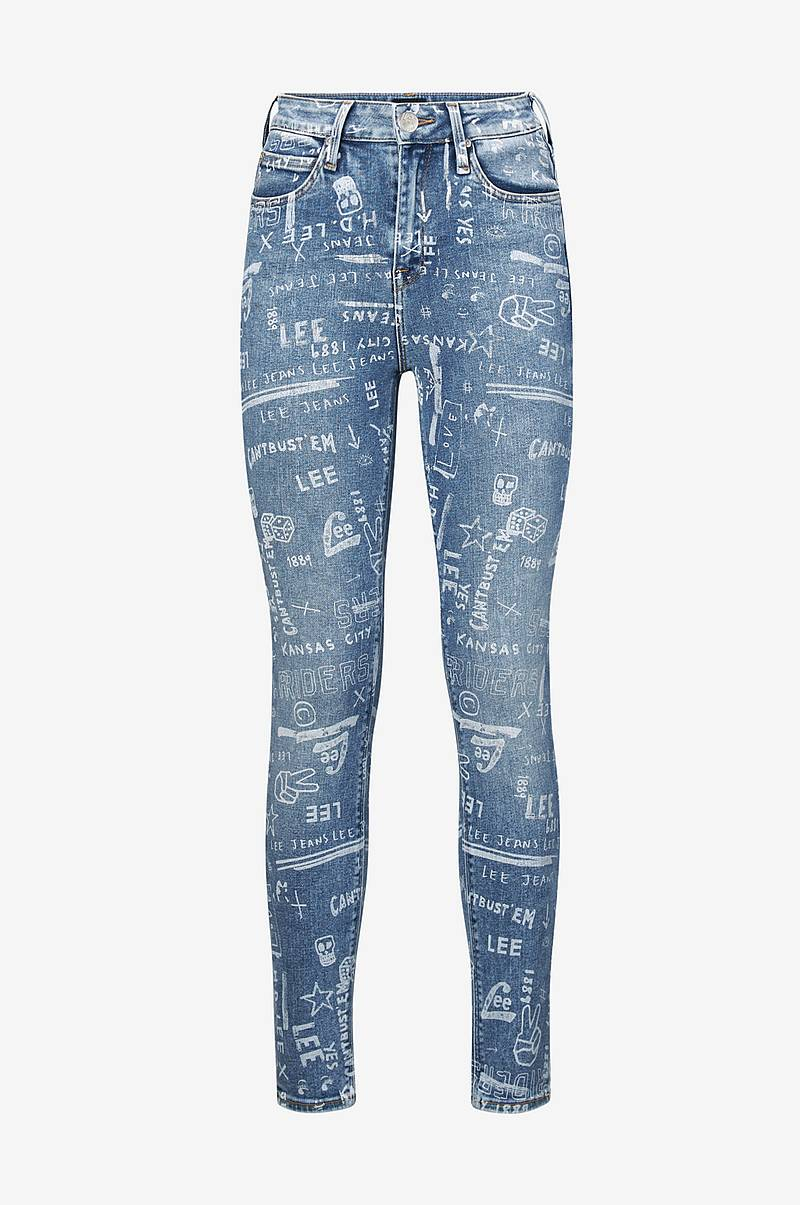 Jeans Scarlett High, Slim Fit