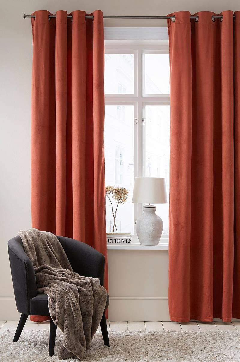 Modernistisk Gardiner - Shop hjeminnredning online Ellos.no AY-73
