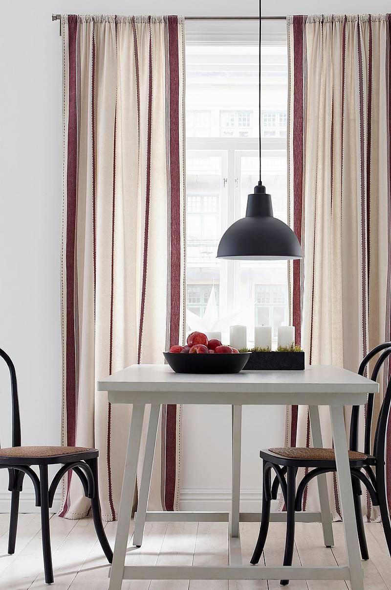 Julgardiner - Shoppa nya gardiner till jul - Ellos.se : svarta persienner : Inredning