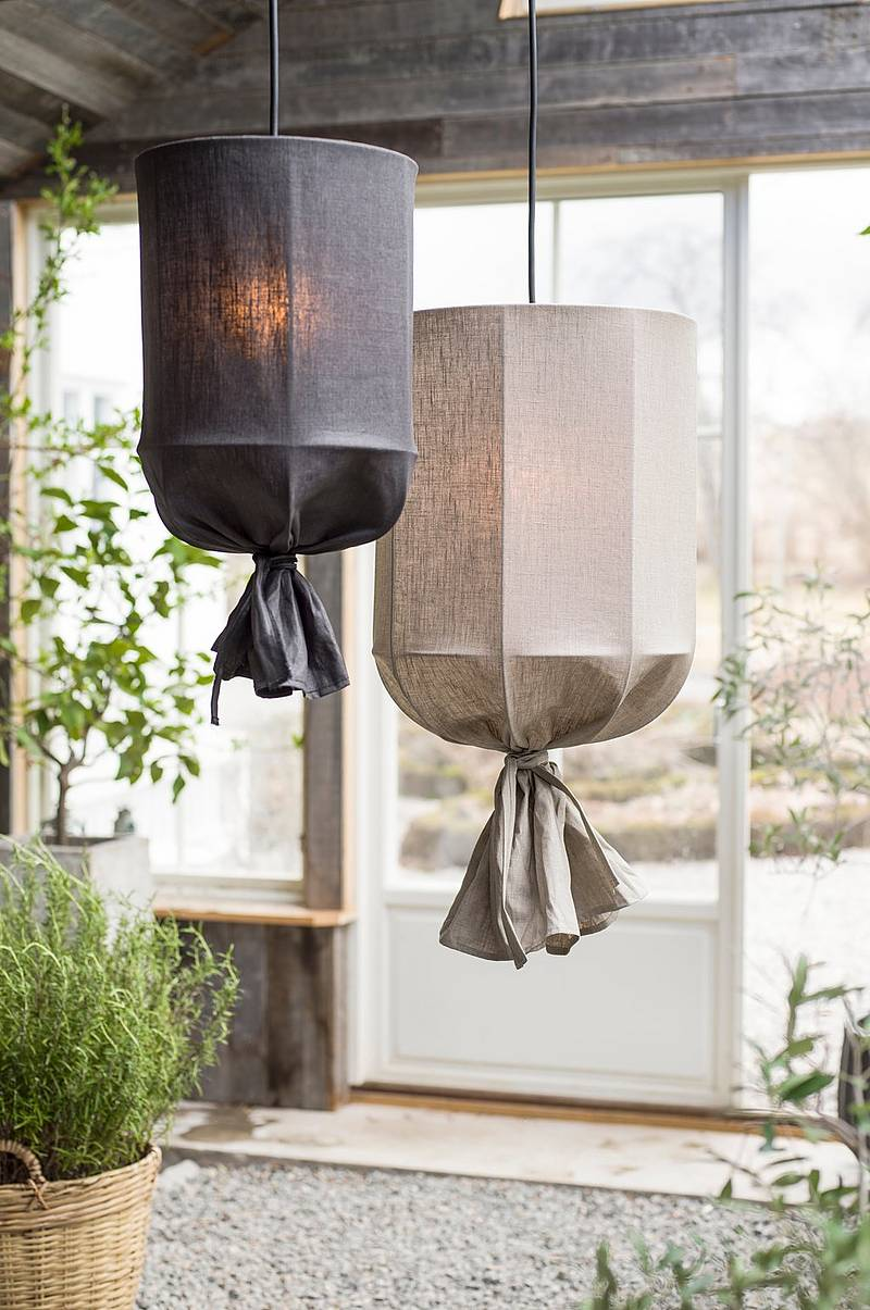 Loftlampe Round Outdoor 30 cm
