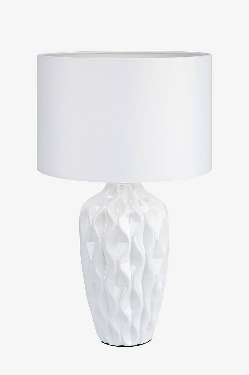 Bordlampe ANGELA Hvit