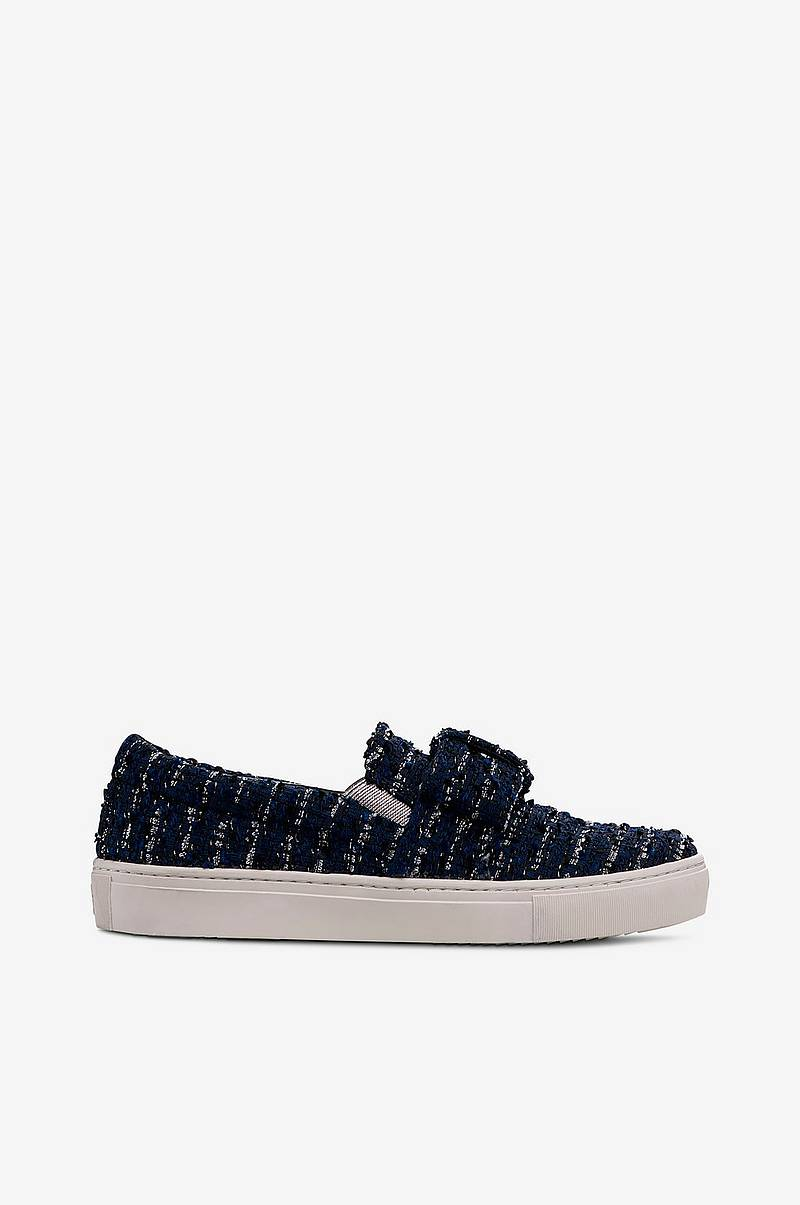 Kupsole Bow Slip On tweedtennarit