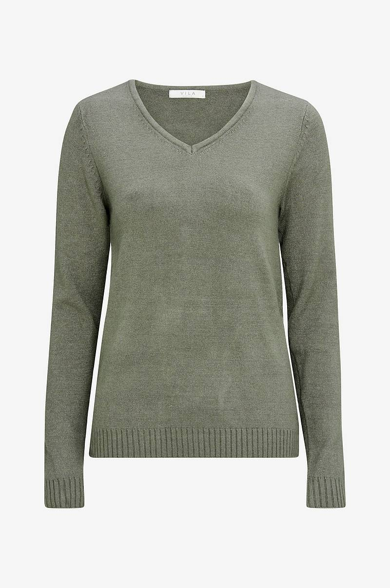 Tröja viRil V-neck Knit Top